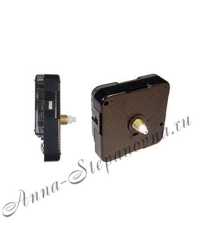 Часовой механизм плавного хода шток 12 мм.