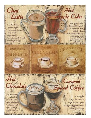 Рисовая бумага «Кофейня»