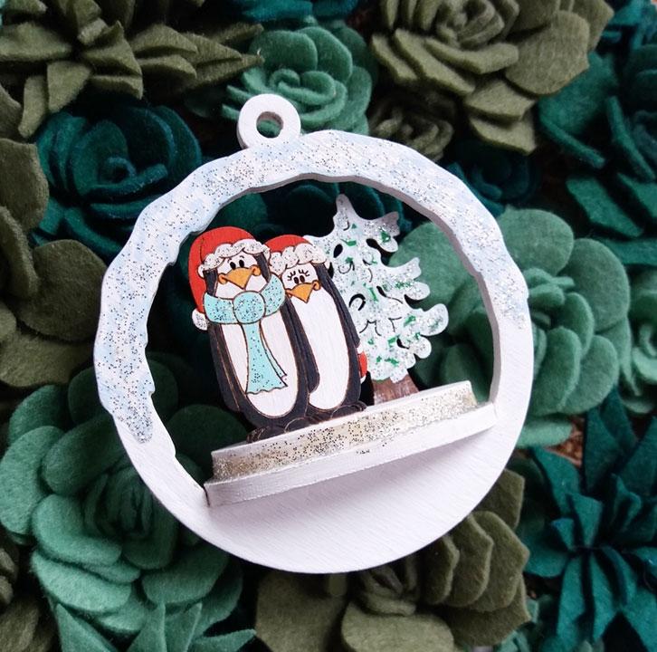 Новогодний набор для творчества Пингвины