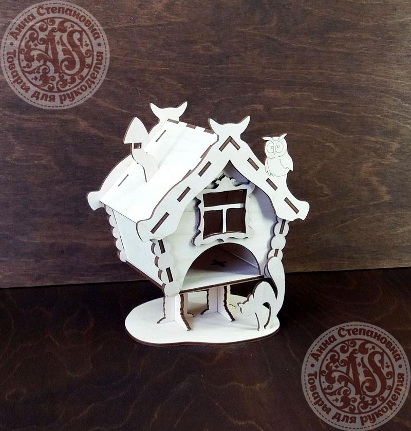 Чайный домик Избушка маленькая