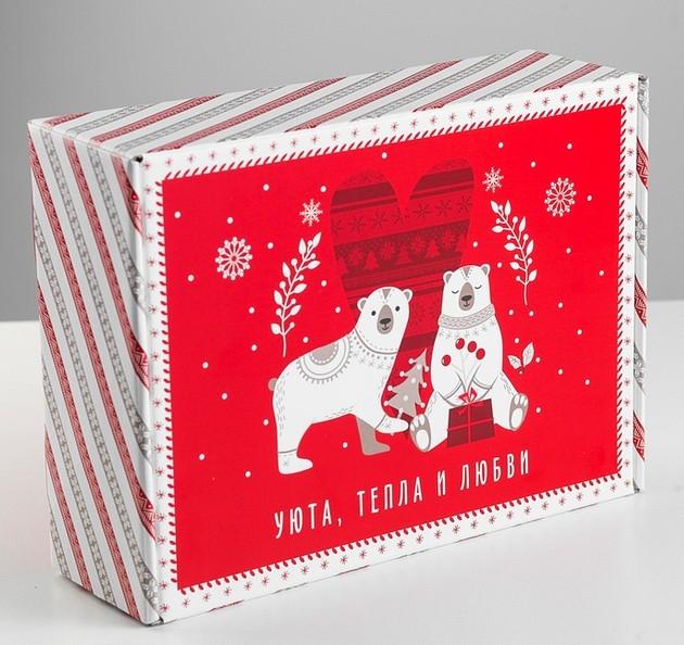 Коробка сборная «Новогодняя»
