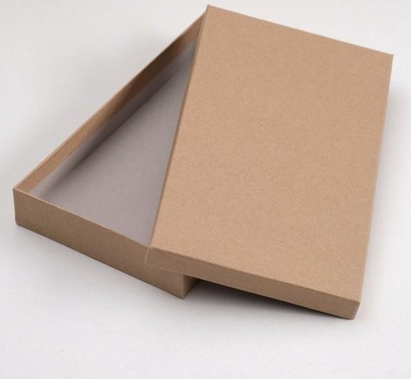 Коробка крафт №2 плоская