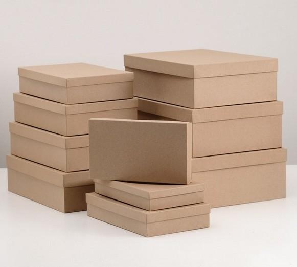 Коробка крафт №9 плотная