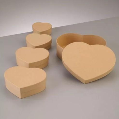 Набор коробочки Сердце крафт