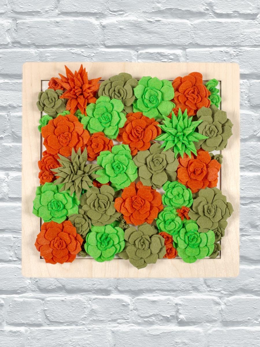 Набор для создания панно из фетра «Август. Урожай»
