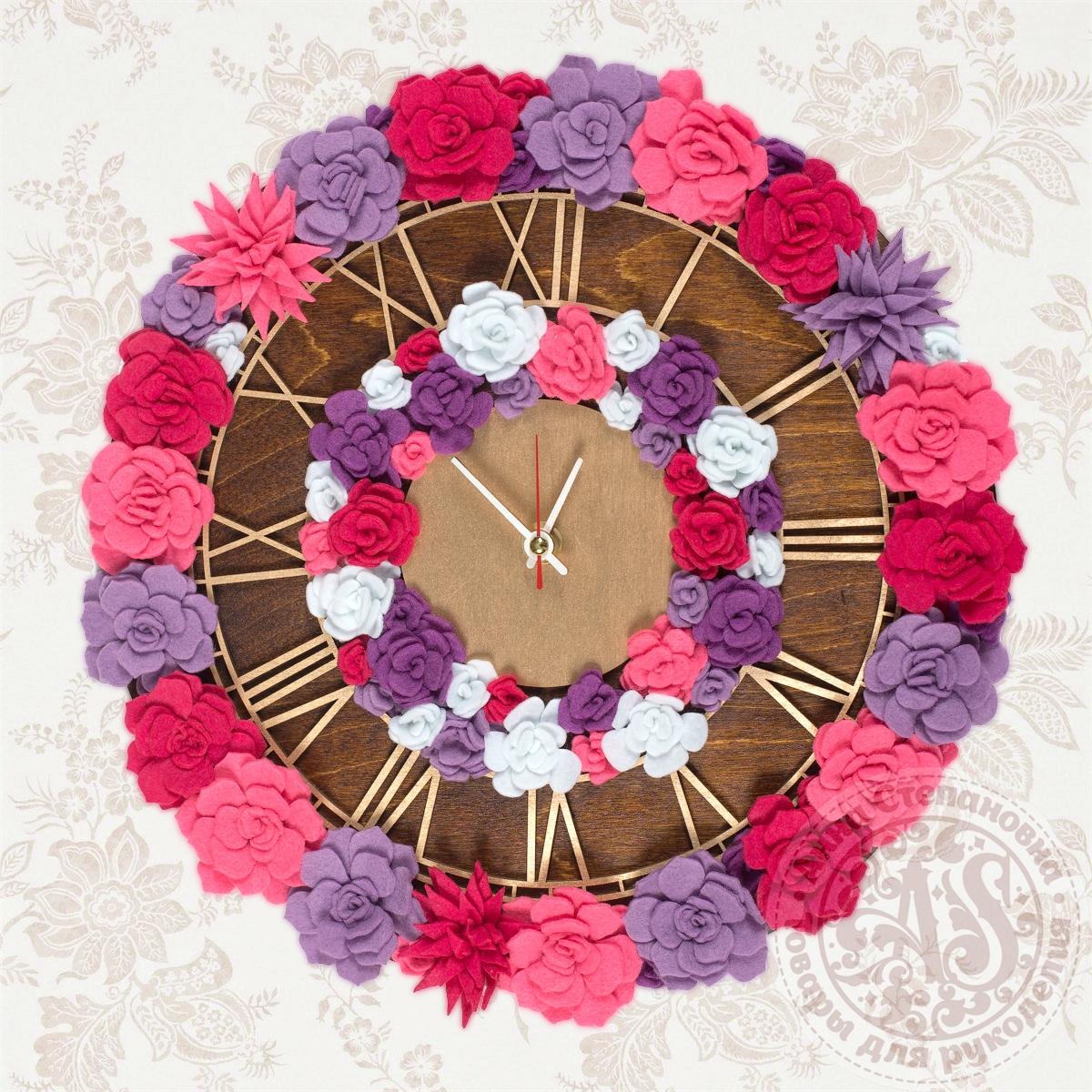 Набор для создания часов «Ягодное чудо» Премиум