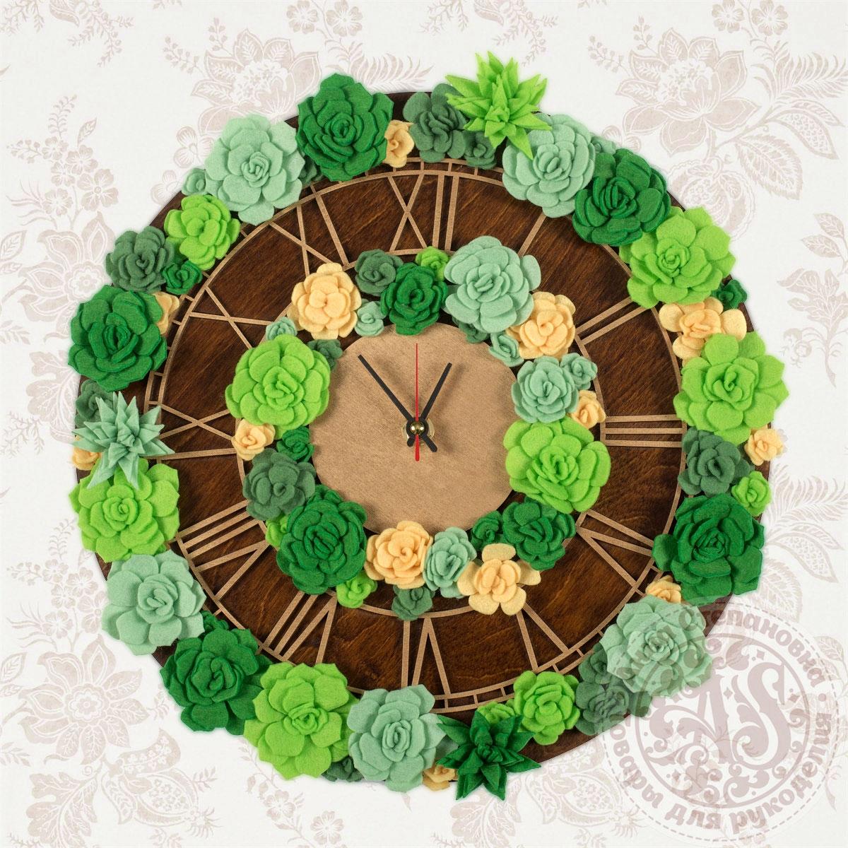 Набор для создания часов «Весенняя свежесть» Премиум