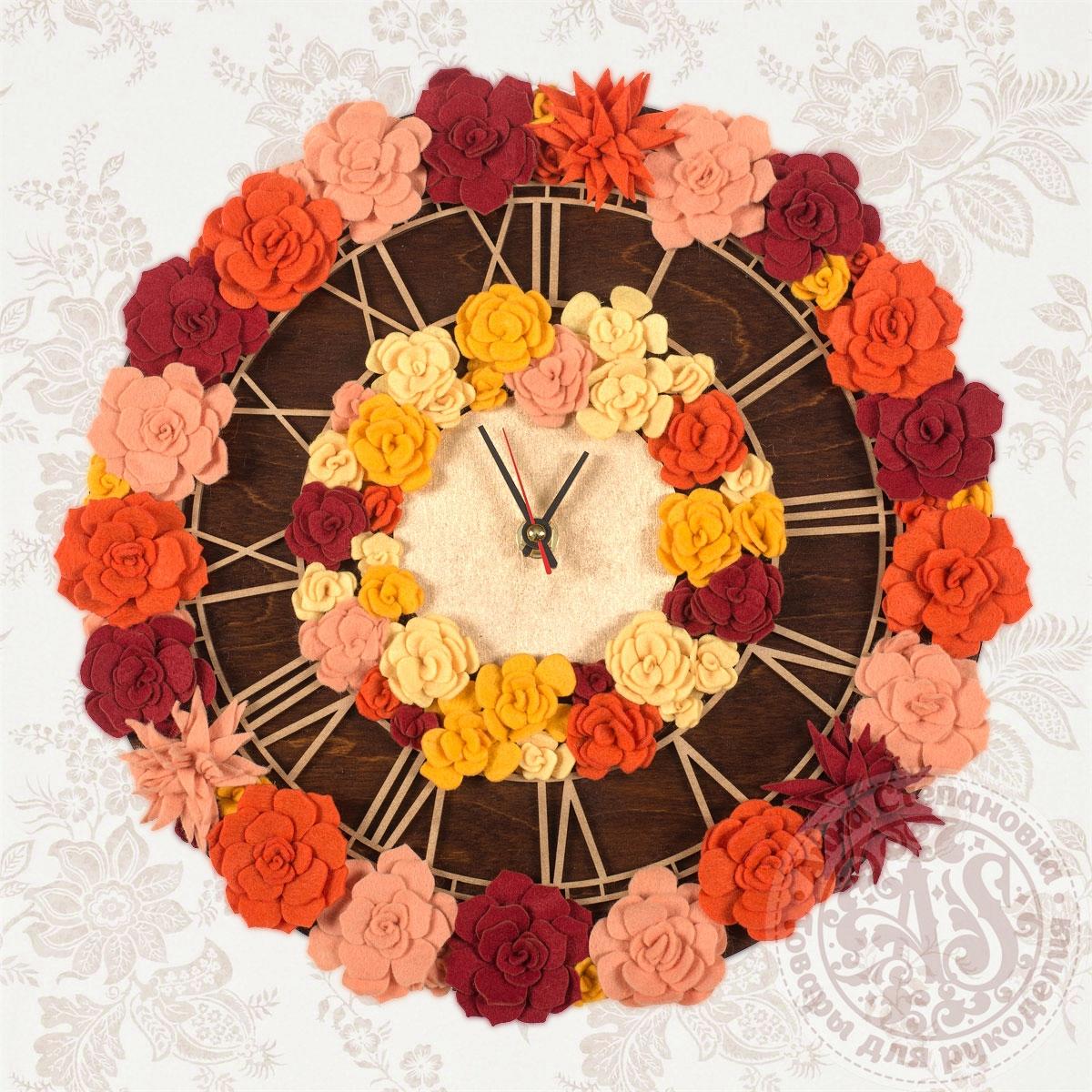 Набор для создания часов «Осеннее танго» Премиум