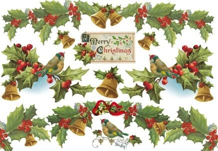 Бумага рисовая для декупажа «Merry Christmas»