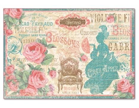 Бумага рисовая для декупажа Версаль