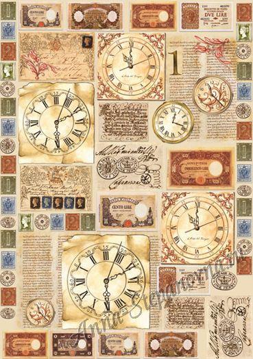 Почтовые марки для декупажа