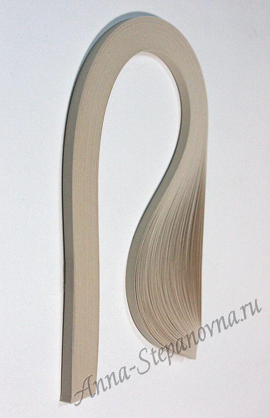 Бумага для квиллинга «песочный» ширина 1,5 мм