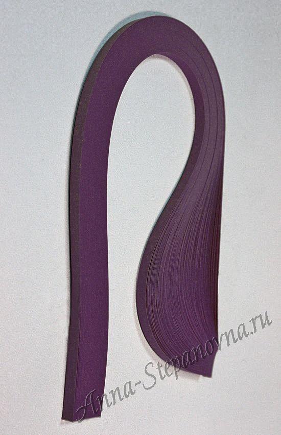 Бумага для квиллинга «виноград» ширина 5 мм