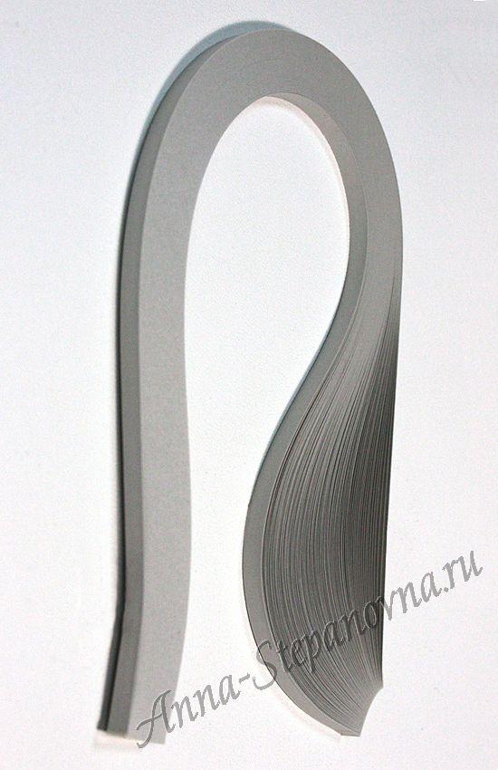 Бумага для квиллинга «дымчатый» ширина 10 мм