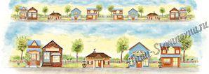 Бумага рисовая для декупажа «Загородный дом»
