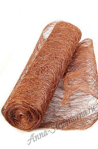 Сизалевое полотно «Медь»