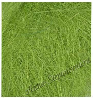 Сизаль натуральный светло-зеленый