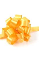 Бант шар желтый