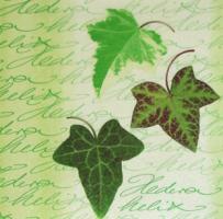 Салфетка для декупажа «Листья плюща»