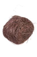 Сизаль натуральный коричневый