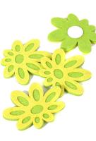 Цветок декоративный «Ромашка зеленая»