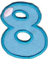 Термоаппликация цифра «8»