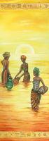 Бумага рисовая для декупажа «У воды»