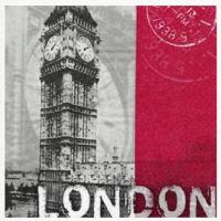 Салфетка для декупажа «London»