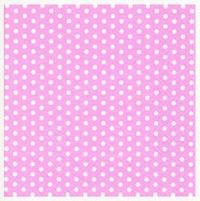 Салфетка для декупажа «Горошки на розовом»