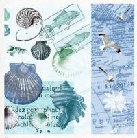 Салфетка для декупажа «Океан»