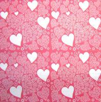 Салфетка для декупажа «Ажурные сердечки»