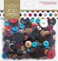 Набор пуговиц Spots & Stripes Jewels Ассорти