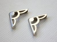 Уголки металлические серебристые 1