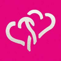 Дырокол фигурный «Два сердца»