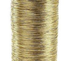 Шнур декоративный золотистый