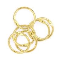 Кольца для альбомов «Золото» 19 мм.