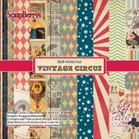 Набор бумаги «Старый цирк» мини