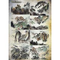 Рисовая бумага «Китайские пейзажи»