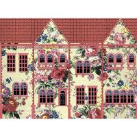 Рисовая бумага «Цветочный домик»