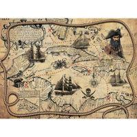Рисовая бумага «Пиратская карта»