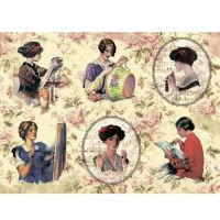 Рисовая бумага «Рукодельницы»
