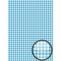 Рисовая бумага «Голубая клетка»