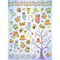 Рисовая бумага «Смешные совы»