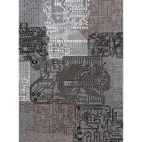 Рисовая бумага «Микросхемы»