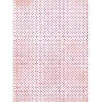 Рисовая бумага «Фон. Розовый горох»