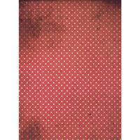 Рисовая бумага «Красный горох»