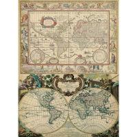Рисовая бумага «Старая карта»