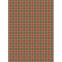 Рисовая бумага «Шотландка»