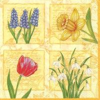 Салфетка «Весенние цветы» №506