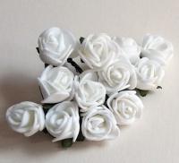 Букетик роз «Белый вальс»